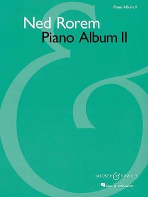 Piano Album 2 Ned Rorem Partition Piano - laflutedepan