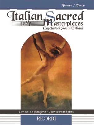 Italian Sacred Masterpieces. Ténor Partition Recueils - laflutedepan