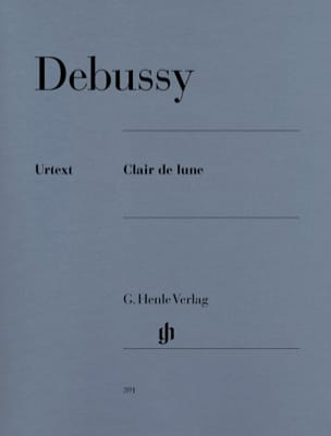DEBUSSY - Moonlight - Partition - di-arezzo.co.uk