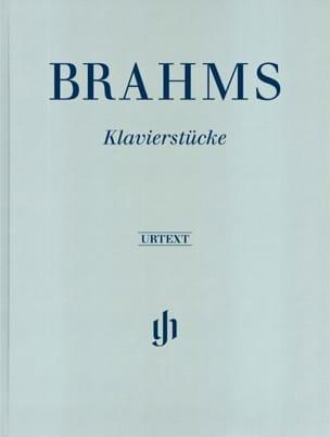 Klavierstücke - Edition Reliée - BRAHMS - Partition - laflutedepan.com