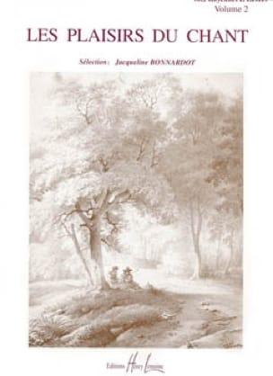 Les Plaisirs Du Chant Volume 2 Voix Moyenne / Haute - laflutedepan.com