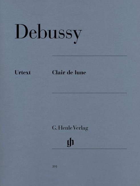 Clair de Lune - DEBUSSY - Partition - Piano - laflutedepan.com