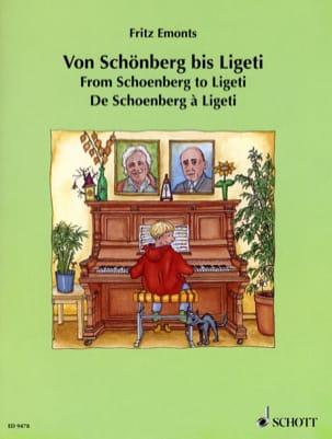 Von Schoenberg Bis Ligeti Partition Piano - laflutedepan