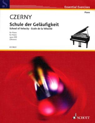 Ecole de la vélocité Opus 299 CZERNY Partition Piano - laflutedepan