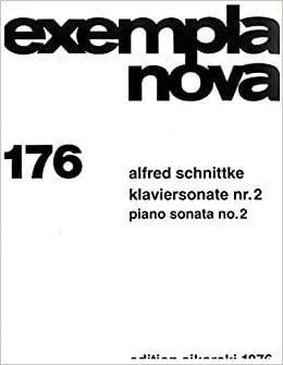 Klaviersonate N° 2 SCHNITTKE Partition Piano - laflutedepan
