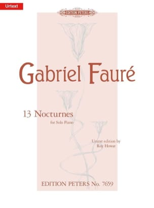 13 Nocturnes FAURÉ Partition Piano - laflutedepan