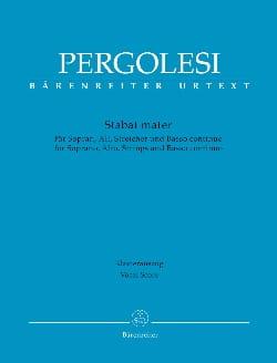 Stabat Mater - PERGOLESE - Partition - Duos - laflutedepan.com