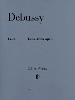 DEBUSSY - 2 Arabesques - Partition - di-arezzo.co.uk