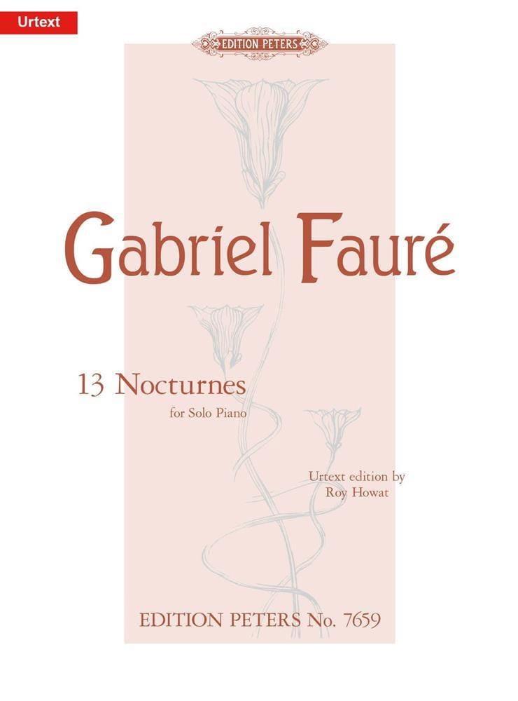 13 Nocturnes - FAURÉ - Partition - Piano - laflutedepan.com