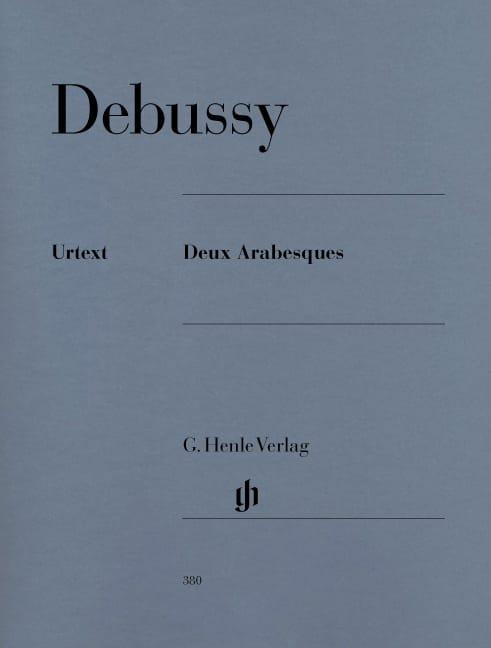 2 Arabesques - DEBUSSY - Partition - Piano - laflutedepan.com