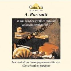 Arie Antiche Volume 1. 2 CD Seuls Alessandro Parisotti laflutedepan