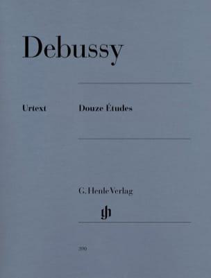 12 Etudes DEBUSSY Partition Piano - laflutedepan