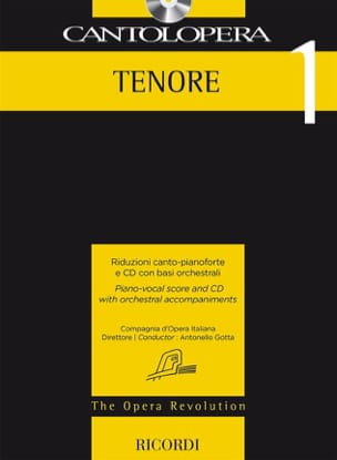 Cantolopera Tenore 1 Partition Opéras - laflutedepan