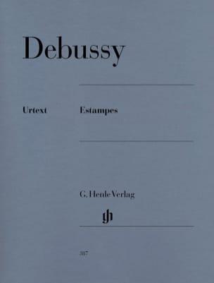 Estampes DEBUSSY Partition Piano - laflutedepan