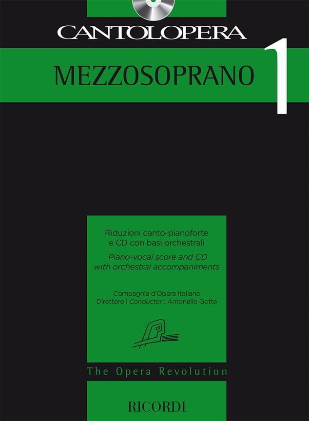 Cantolopera Mezzo Soprano 1 - Partition - laflutedepan.com