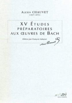 XV études préparatoires aux oeuvres de Bach laflutedepan