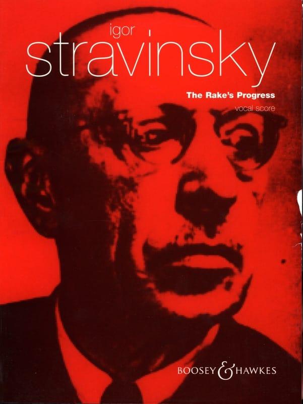 The Rake's Progress - STRAVINSKY - Partition - laflutedepan.com