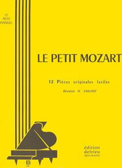 Petit Mozart Le MOZART Partition Piano - laflutedepan