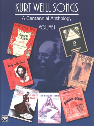 A Centennial Anthology Volume 1 WEILL Partition Opéras - laflutedepan