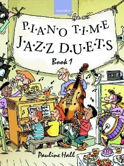 Piano Time Jazz Duets Volume 1. 4 Mains Partition laflutedepan