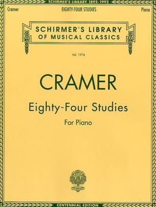 84 Studies Jean-Baptiste Cramer Partition Piano - laflutedepan
