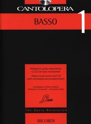 Cantolopera Basso 1 Partition Opéras - laflutedepan