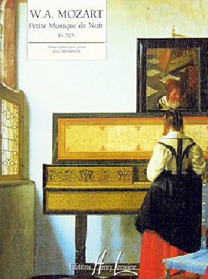Petite Musique de Nuit KV 525 MOZART Partition Piano - laflutedepan