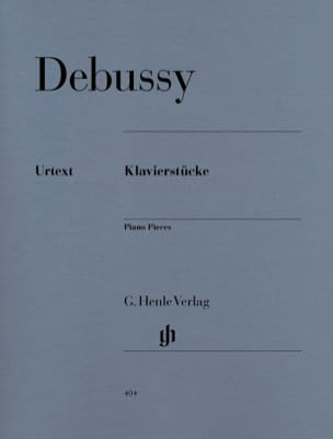 Klavierstücke DEBUSSY Partition Piano - laflutedepan