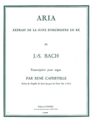 Aria de la Suite En Ré - BACH - Partition - Orgue - laflutedepan.com