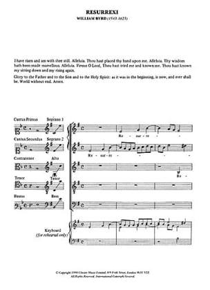 Motets. Archive Willam Byrd Partition Chœur - laflutedepan