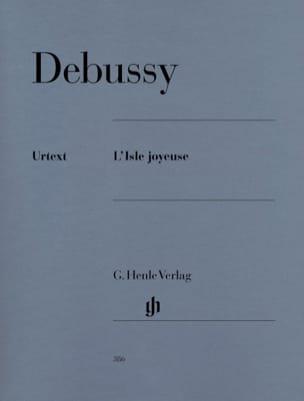 L'Isle Joyeuse DEBUSSY Partition Piano - laflutedepan