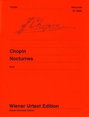 Nocturnes CHOPIN Partition Piano - laflutedepan