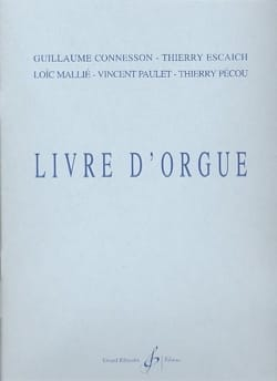 Livre D'orgue Partition Orgue - laflutedepan