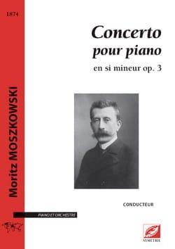 Concerto pour piano op. 3. Partie soliste laflutedepan
