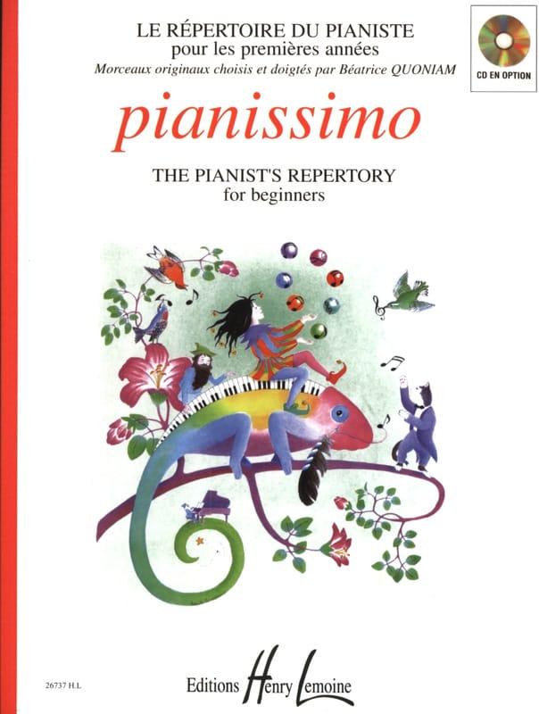 Pianissimo - Béatrice Quoniam - Partition - Piano - laflutedepan.com