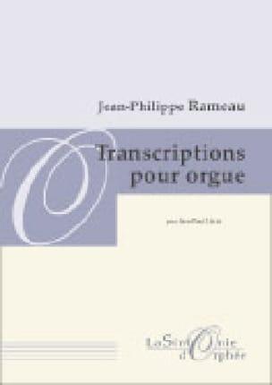 Transcription Pour Orgue - RAMEAU - Partition - laflutedepan.com