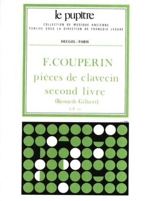 Pièces de Clavecin. Livre 2 COUPERIN Partition Clavecin - laflutedepan