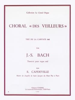 Choral des Veilleurs BACH Partition Orgue - laflutedepan