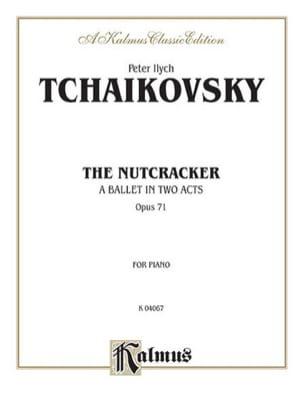 Casse-Noisettes Opus 71 TCHAIKOVSKY Partition Piano - laflutedepan