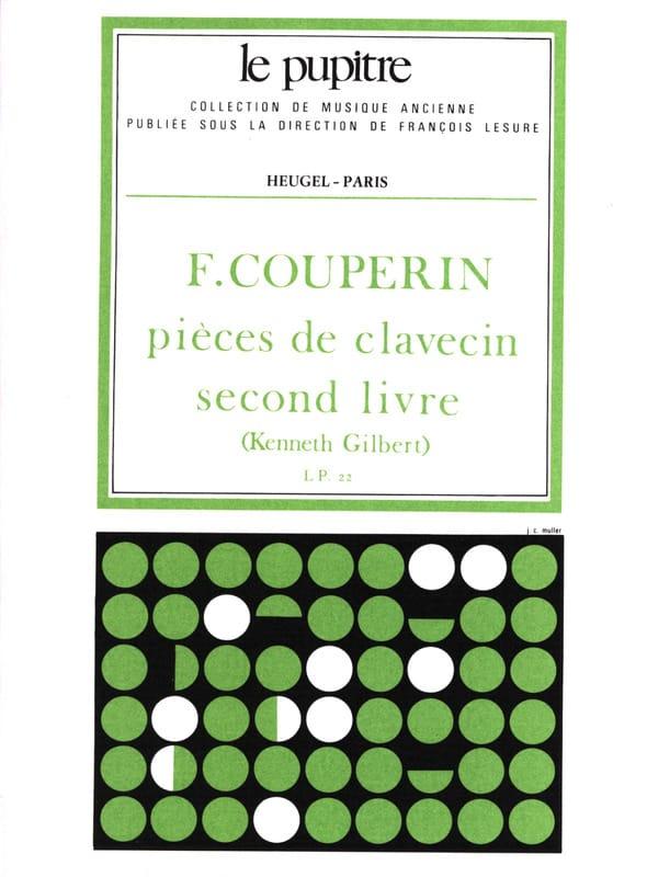 Pièces de Clavecin. Livre 2 - COUPERIN - Partition - laflutedepan.com