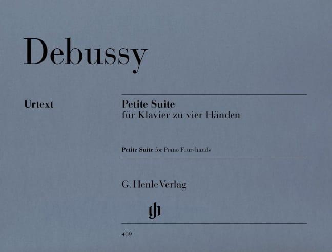 Petite Suite Pour Piano A 4 Mains - DEBUSSY - laflutedepan.com