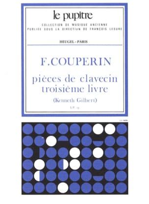 Pièces de Clavecin. Livre 3 COUPERIN Partition Clavecin - laflutedepan