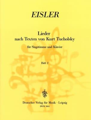 Lieder Nach Texten Von Kurt Tucholsky Volume 2 laflutedepan