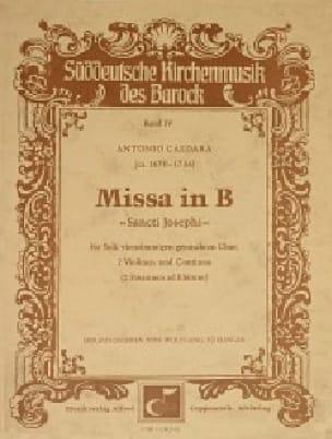 Missa Dolorosa en Mi Mineur. Choeur Seul - CALDARA - laflutedepan.com