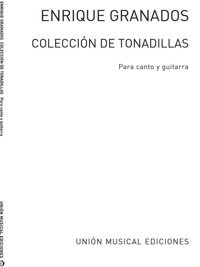 Collecion de Tonadillas - GRANADOS - Partition - laflutedepan.com