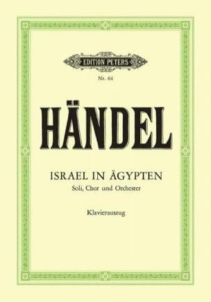 Israël En Egypte En Allemand - HAENDEL - Partition - laflutedepan.com
