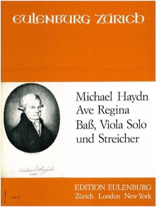 Ave Regina - Michael HAYDN - Partition - laflutedepan.com