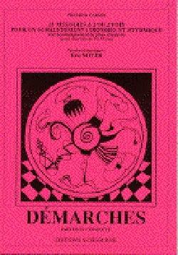 Démarches. 1er Cahier Eric Noyer Livre Chœur - laflutedepan