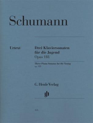 Trois Sonates Pour la Jeunesse Opus 118 SCHUMANN laflutedepan