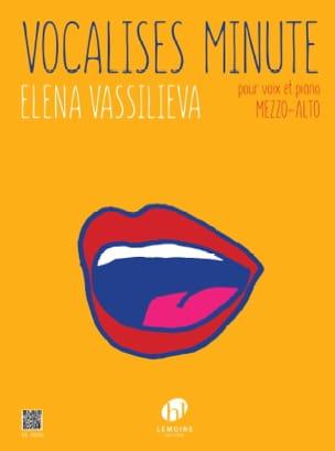 Vocalises minute - Voix Mezzo ou Alto et piano - laflutedepan.com